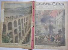 LA DOMENICA DEL CORRIERE 11 Maggio 1924 Arrigo Boito Re a Tirso in Sardegna di