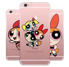 Powerpuff Girl Silicone Case iPhone XR XS Max X 8 7 6 Plus 5 Samsung S 6 7 8 9