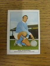 1970 Trade Card: Footballers) Manchester City - Mike Summerbee [Naisco Foods LTD