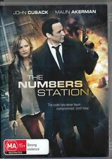 THE NUMBERS STATION - JOHN CUSACK - NEW & SEALED REGION 4 DVD - FREE LOCAL POST