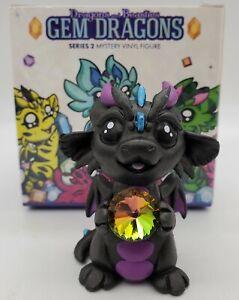 """Dragons & Beasties Gem Dragons Series 2 """"CRYSTAL"""" Vinyl Figurine Unglued Gem"""