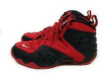 Nike Zoom Rookie Mens Basketball Shoes University Red Black Size 9