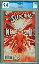 SUPERMAN #38 New 52 1:100 Romita Variant 2015 JRJR New Power NM/M CGC 9.8