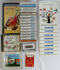 Educational MUSIC IN SPANISH FOR KIDS Casette Tapes CDs ALMA FLOR ADA cantan lot