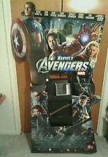MARVELS THE AVENGERS LIFESIZE STANDEE STANDUP POSTER HEMSWORTH DOWNEY JR JACKSON