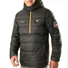 Ellesse Men's Narni Padded Jacket Black size Medium
