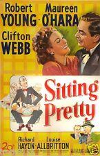 SITTING PRETTY 1948 a  MR BELVEDERE movie on DVD blk whi Comedy Clifton Webb