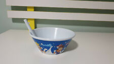 KELLOGGS RICE BUBBLES PROMOTIONAL PLASTIC CEREAL BOWL WITH SPOUT