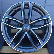 """20"""" Wheels fit Audi Style A4 A5 A6 A8 S6 S7 S8 Q5 A7 RS6 Quatro 5X112 Rims"""