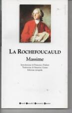 Massime di La Rochefoucauld François de edito da Newton Compton, 2005
