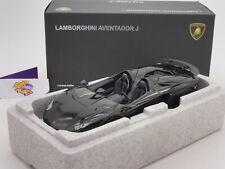 """AUTOart 74676 # Lamborghini Aventador Cabriolet Baujahr 2012 in """" schwarz """" 1:18"""