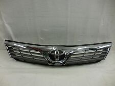12 13 14 TOYOTA CAMRY FRONT GRILLE P/N 53101-06320 2012 2013 2014 OEM 2169