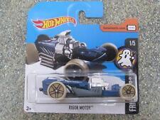 Hot Wheels 2017 #059/365 RIGOR MOTOR blue Fright Cars