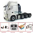 LESU 1/14 RC Tractor Truck 8*8 Metal Chassis Mercedes Hercules Cabin Sound Light