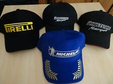 MICHELIN PODIUM+PIRELLI+NETZELER+BRIDGESTONE LOT 4 CASQUETTES COMPETITION NEUVES
