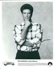 Ted Danson (Cheers) signed 8x10 photo COA