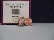 WDCC Disney Enchanted Places Miniatures ~ Fifer Pig~ MIB COA