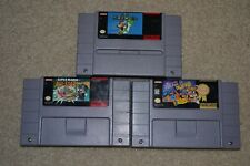 Lot TETRIS & DR. MARIO SUPER WORLD + MARIO ALL STARS SUPER NINTENDO GAME SNES