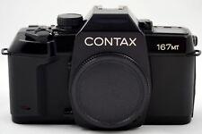 Contax 167MT Motorised 35mm Film SLR Camera Body Only - Mint