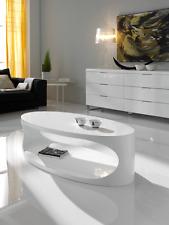 CT-202 Dupen Design Couchtisch Hochglanz Weiß Beistelltisch Wohnzimmer Tisch