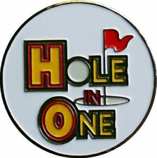 Hole in One Achievement Golf Ball Marker with Matching Hat Clip