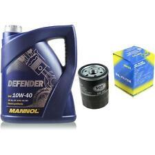 Vidange Kit 5 Litre mannol Defender 10W-40 + Sct Filtre à Huile Service 10164140