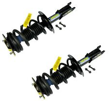 Pair Set 2 Front Strut Coil Springs w/ Lower Mounting Hardware for Pontiac Moog