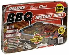 Mister Chef Deluxe Instant Jumbo Charcoal BBQ New