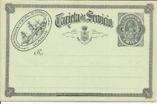 Chile OFFICIAL postalcard HG:D13 unused, VERY SCARCE