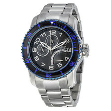 Invicta Pro Diver Multi-Function Black Dial Stainless Steel Mens Watch 15339