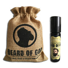 1/3oz Roll-On Fragrance Body Oil Cologne & Sack by BEARDofGOD™ | VANILLA TOBACCO