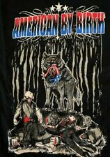 American Wolves American by Birth Wolf by Nature T-Shirt ROH Medium WWE Impact
