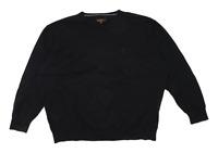 Ben Sherman Mens Size 2XL Cotton Black Jumper