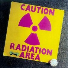 RARE CD JAZZ MINI LP VINYL REPLICA AREA / CAUTION RADIATION AREA
