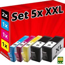 5x Inchiostro Cartucce per hp 934XL+935XL Officejet pro 6230 6820 6830C All DD