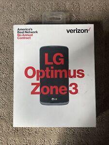 VERIZON No Contract LG OPTIMUS ZONE 3 PREPAID CELLPHONE