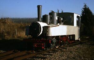 M400. Henschel loco 15968 (1091) rebuild @ Toddington 95 Original slide + rights