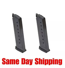 TWO Mec-Gar 1911 Gov't Full-Size 45ACP 8-Rd Magazines MGCG4508BPF *FAST SHIP*!!