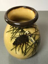 RARE VINTAGE CICADA VASE. FRENCH AEGITNA VALLAURIS, FRANCE,  PICASSO CONNECTION.