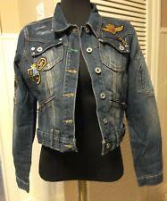 Henleys Denim Jacket (Size: 2) 01349461 10uk