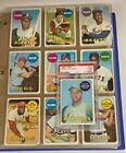 1969 Topps Baseball Complete Set (1-664) w/ Reggie Jackson RC Rookie HOF PSA