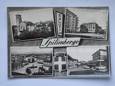 Saluti da SPILIMBERGO vedutine Pordenone vecchia cartolina