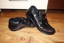 GREAT GENUINE PRADA VELCRO TRAINERS LEATHER SIZE UK 7, EU 40.5, MADE IN ITALY