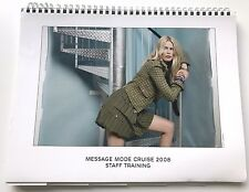 CHANEL CRUISE 2008 MESSAGE MODE STAFF BOOK CATALOG VIP PRESS 91 PAGES