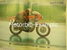 M7404-POSTER VOS-0SS HONDA,REIMO SUZUKI,HONDA RACE HISTORY PART 1