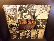 Charlie Chaplin Les Musiques Des Films De LP Disques Vogue EX in shrink