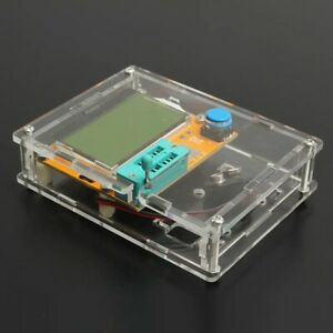 Professional LCR-T4 Mega328 Transistor Tester Diode Triode Tester with Shell