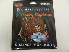 Beartooth Harley-Davidson® Custom Dealer Embroidered Patch - EMCUS03S