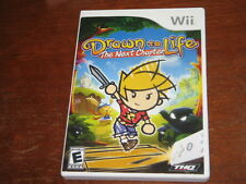 Drawn to Life: The Next Chapter (Nintendo  Wii) - Game & Box in Mint Condition!