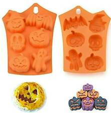 Halloween cake decoration Pumpkin Bat Ghost mould mold cup cake topper icing